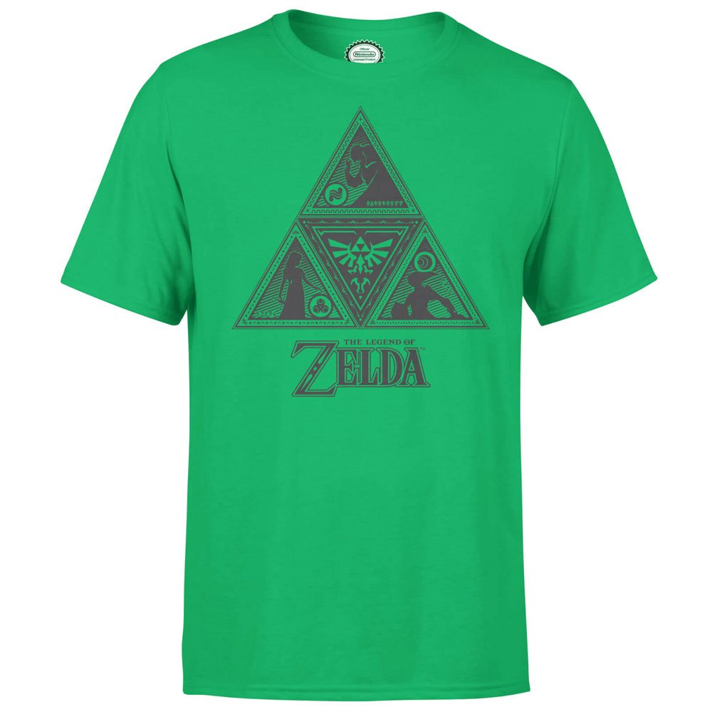 Nintendo T-Shirt Triforce Size S