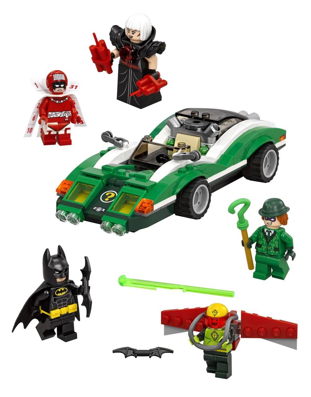 The LEGO® Batman Movie™ The Riddler™ Riddle Racer