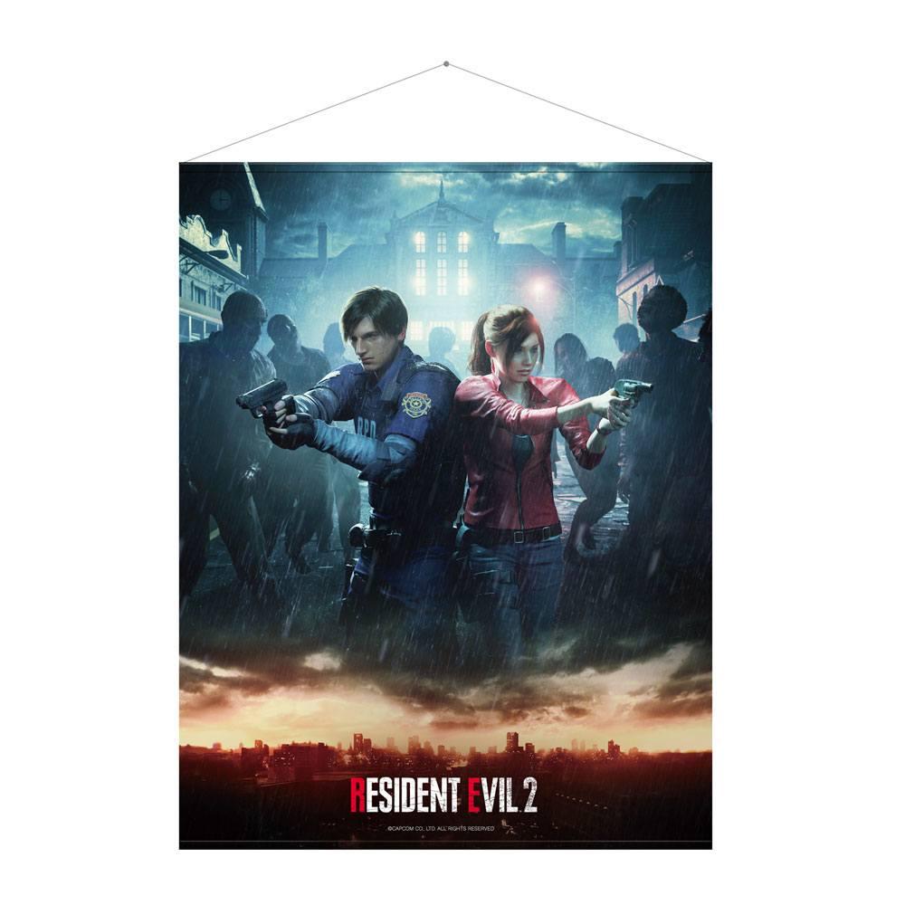 Resident Evil 2 Wallscroll Leon & Claire 100 x 77 cm