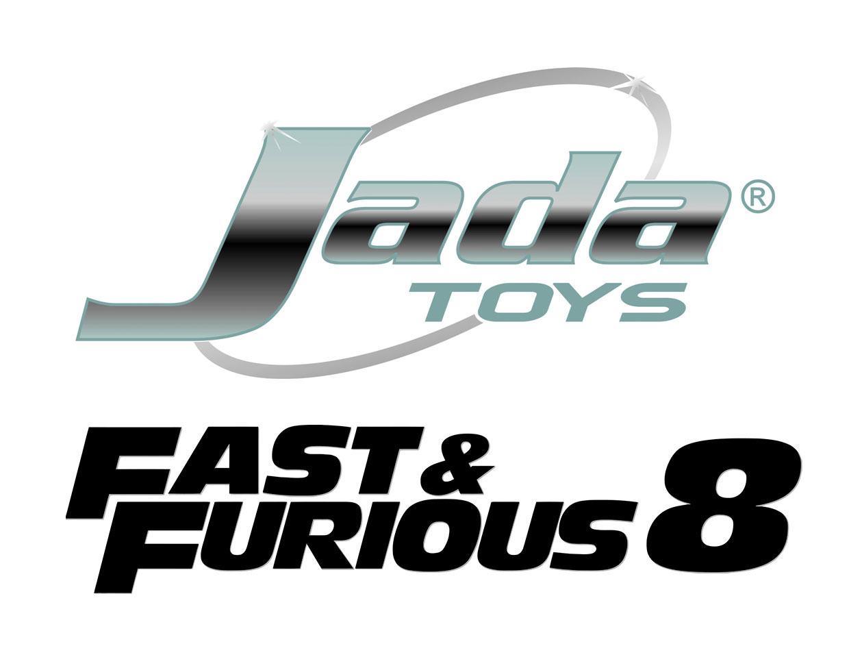 Fast & Furious 8 Diecast Model 1/24 Dom's Dodge Challenger SRT Hellcat