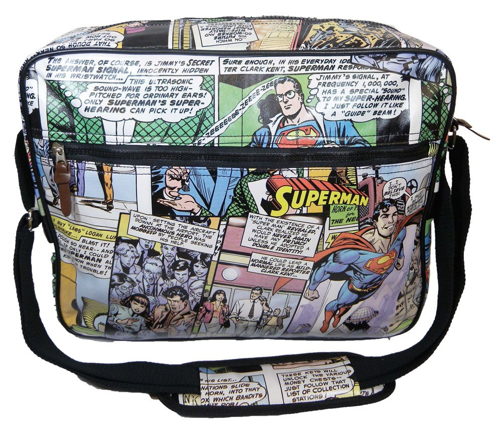 DC Comics Messenger Bag Superman Comic