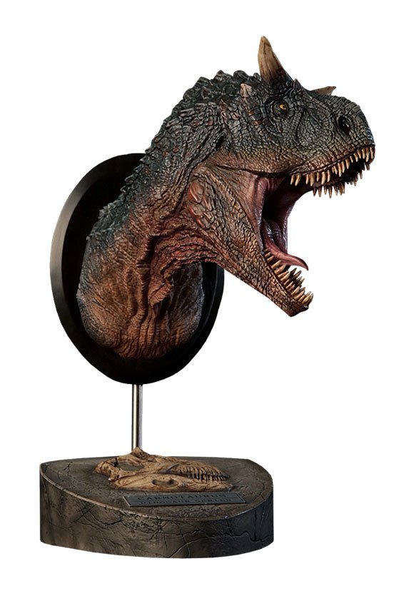 Paleontology World Museum Collection Series Bust Carnotaurus Green Ver. 24 cm