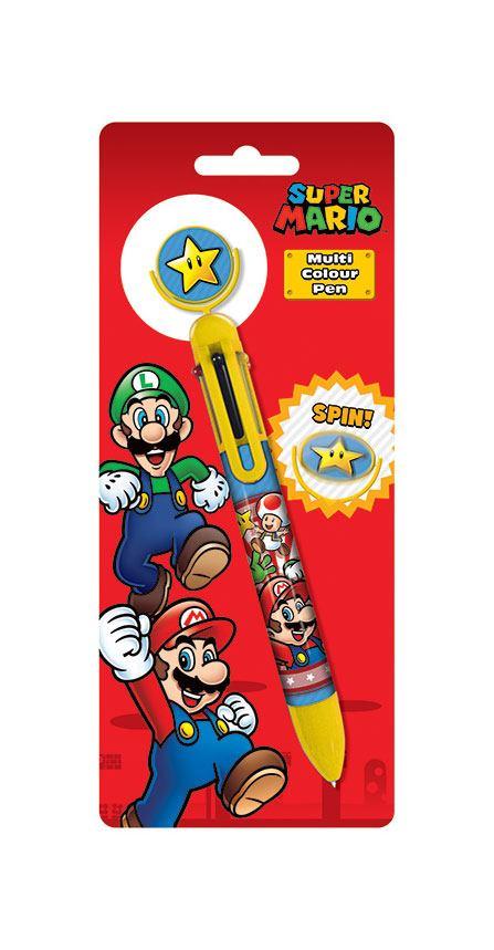 Super Mario Multicoloured Pen Burst