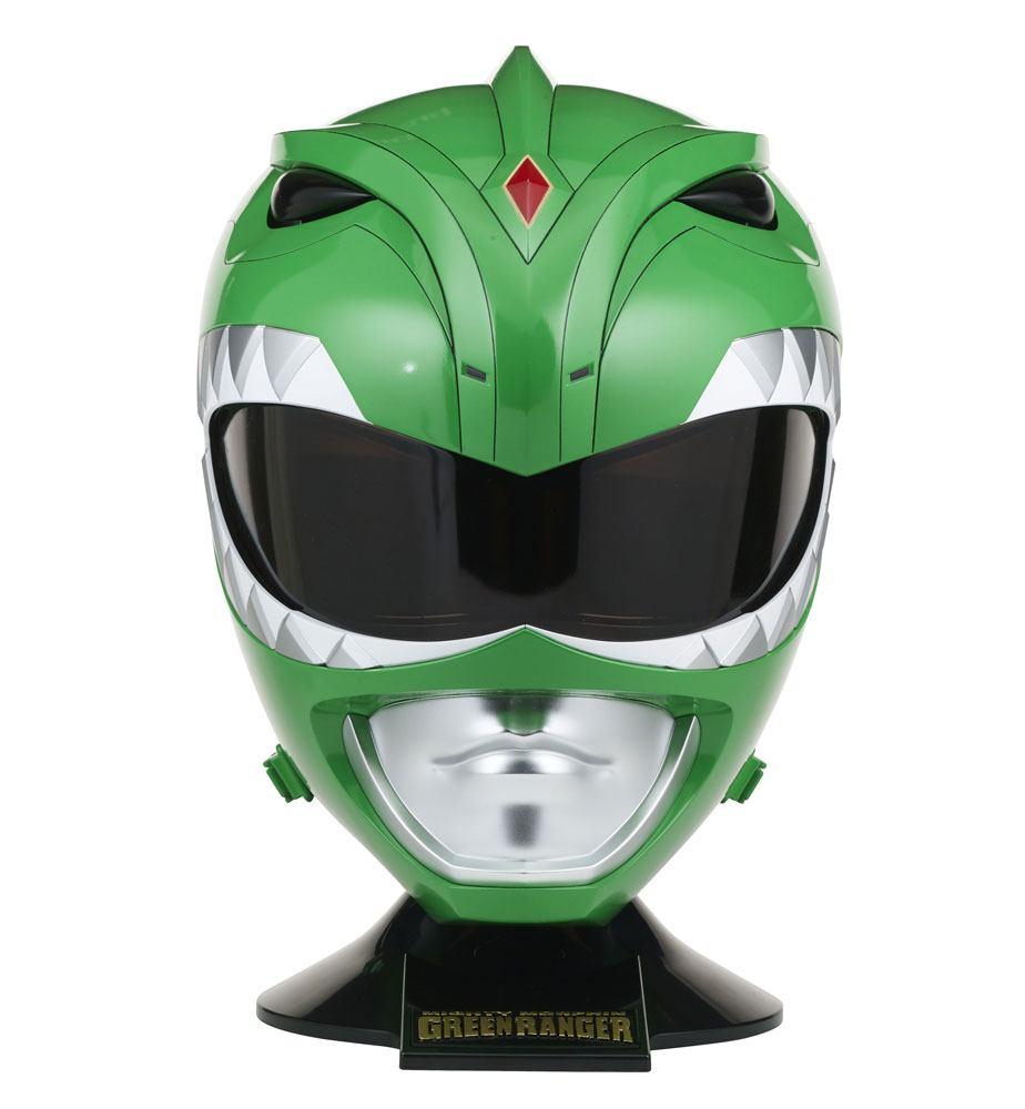 Power Rangers Legacy Cosplay Replica 1/1 Green Ranger Helmet 36 cm