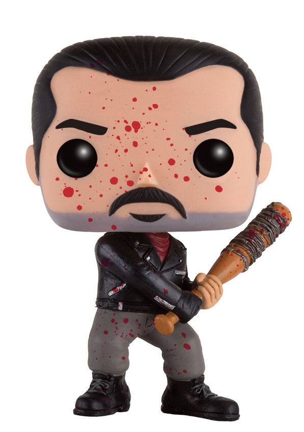 Walking Dead POP! Television Vinyl Figure Bloody Negan 9 cm