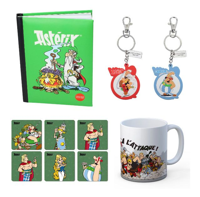 Asterix Gift Box 2018