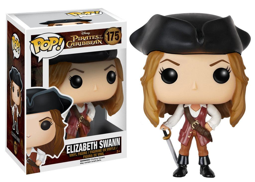 Pirates of the Caribbean POP! Vinyl Figure Elizabeth Swann 9 cm