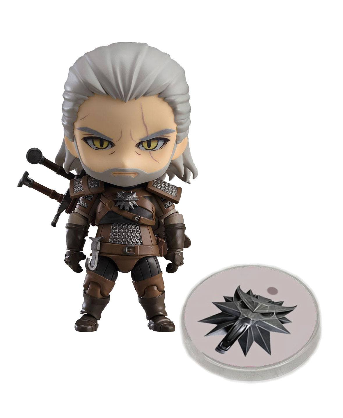 The Witcher 3 Wild Hunt Nendoroid Action Figure Geralt heo Exclusive 10 cm