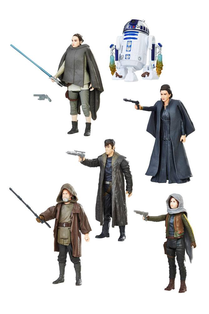 Star Wars Force Link Action Figures 10 cm 2017 Orange Assortment Wave 2 Assortment (12)