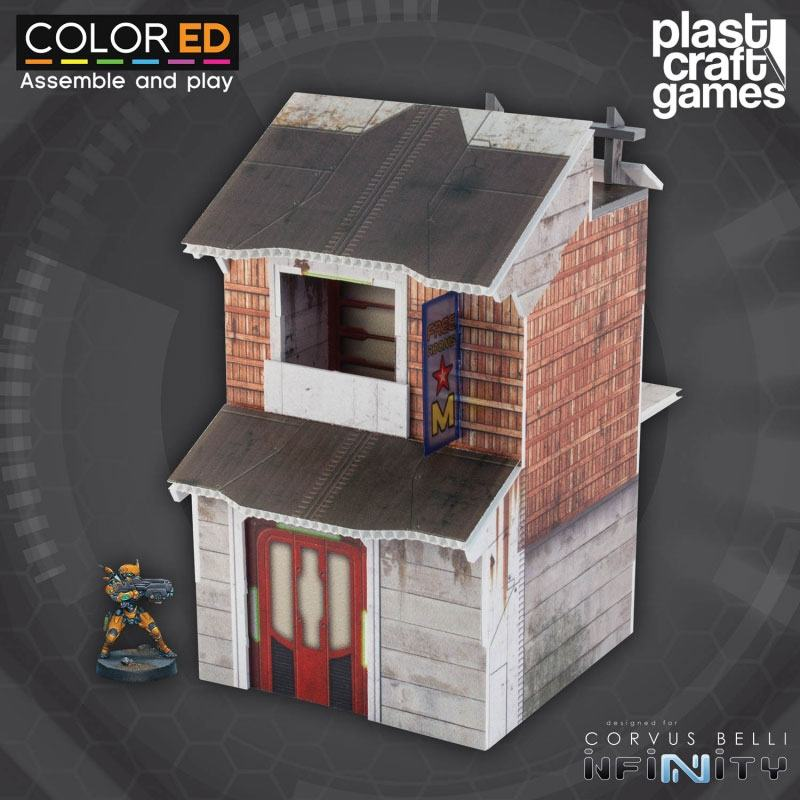 Infinity ColorED Miniature Gaming Model Kit 28 mm Star Motel