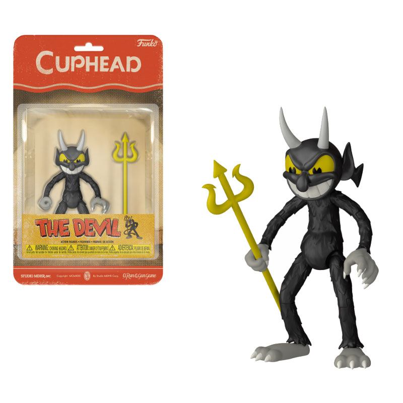 Cuphead Action Figure The Devil 10 cm