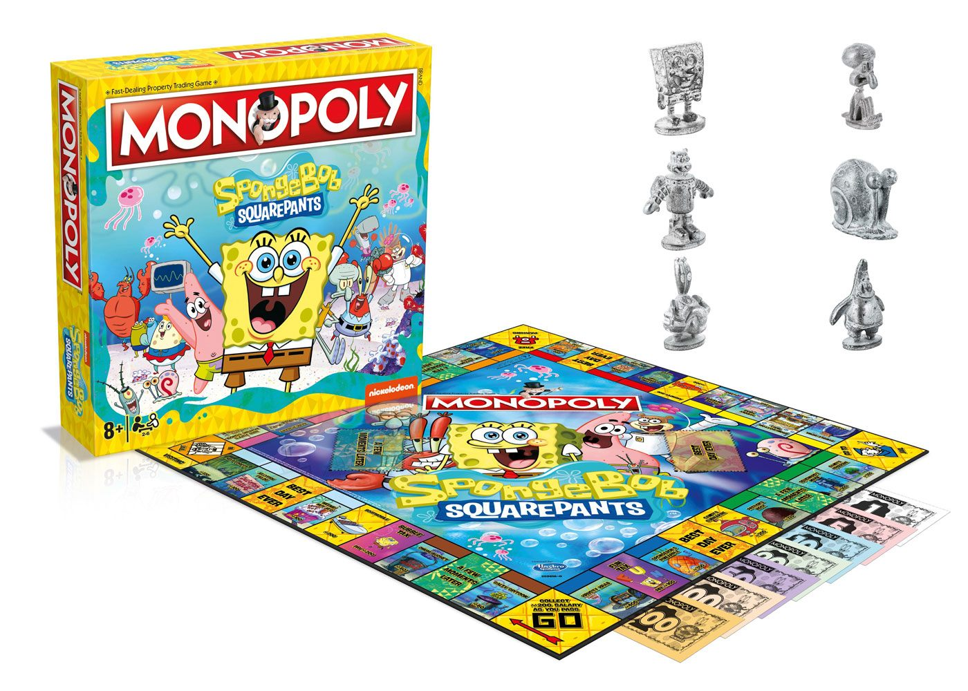 SpongeBob SquarePants Board Game Monopoly *English Version*