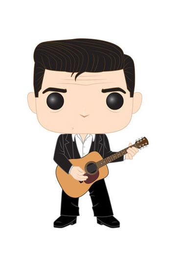 Johnny Cash POP! Rocks Vinyl Figure Johnny Cash 9 cm