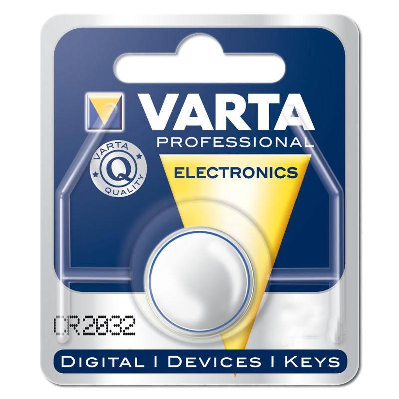 Batterij Varta knoopcel CR2032 lithium