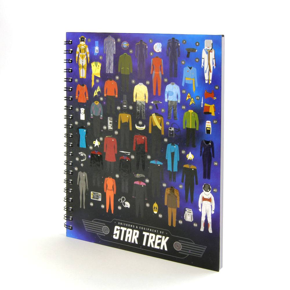 Star Trek Premium Notebook Uniforms & Equipment of Star Trek