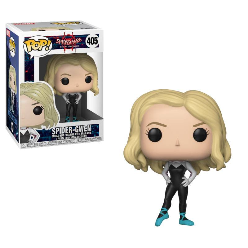 Spider-Man Animated POP! Marvel Vinyl Bobble-Head Spider-Gwen 9 cm