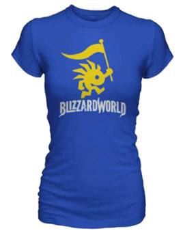 Overwatch Ladies T-Shirt Blizzardworld Logo Size M