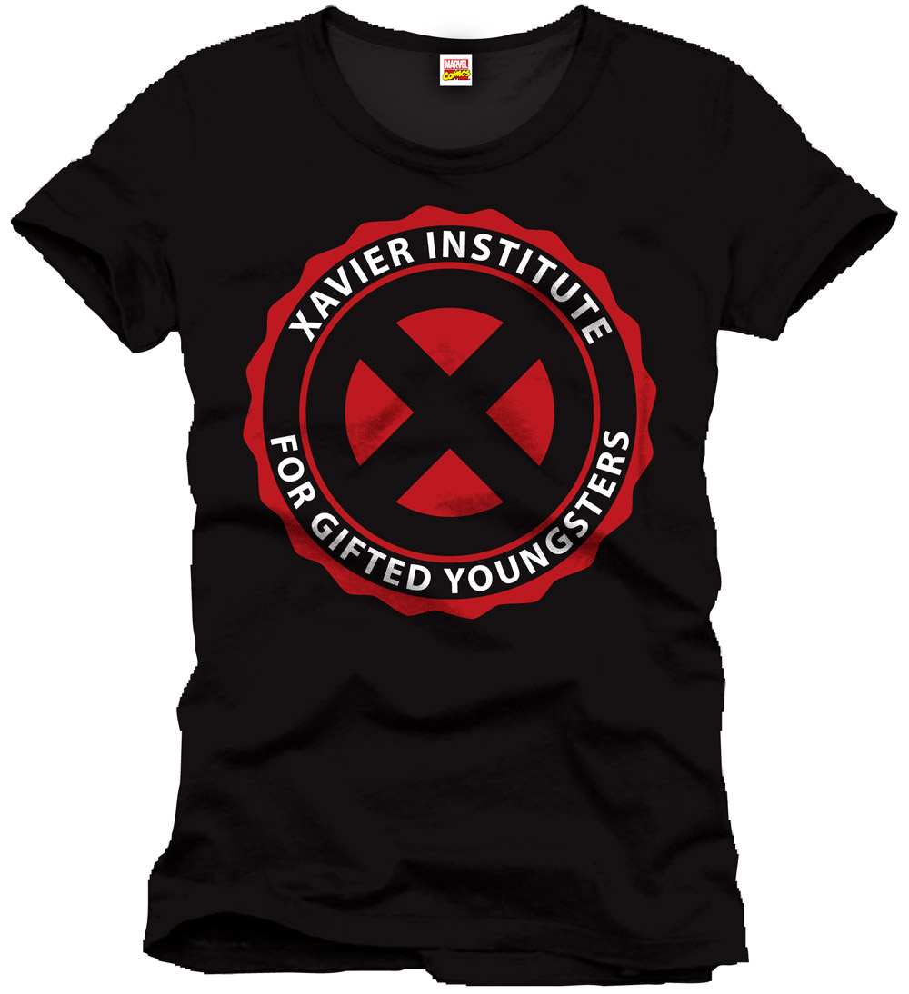 X-Men T-Shirt Xavier Institute Size S