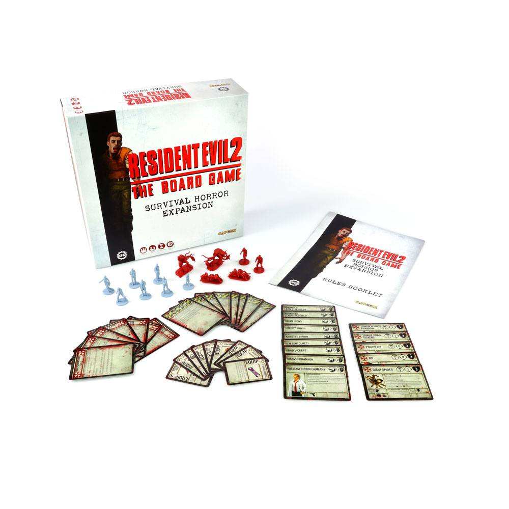 Resident Evil 2 The Board Game Expansion Survival Horror *English Version*