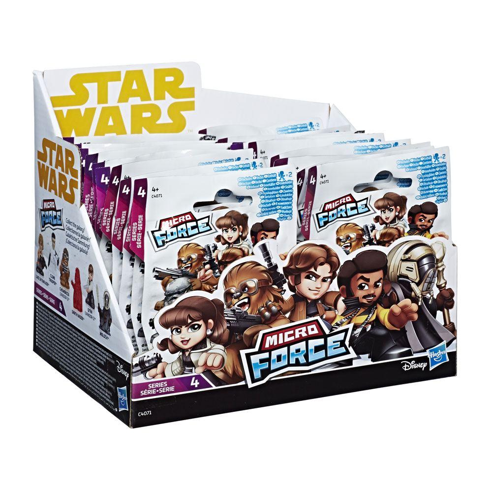 Star Wars Micro Force Mini Figures Blind Bags 2018 Series 4 Display (24)
