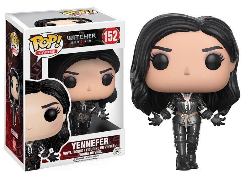 The Witcher POP! Games Vinyl Figure Yennefer 9 cm