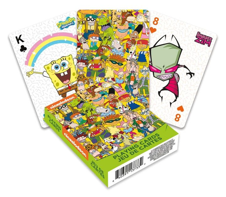 Nickelodeon Playing Cards Cast