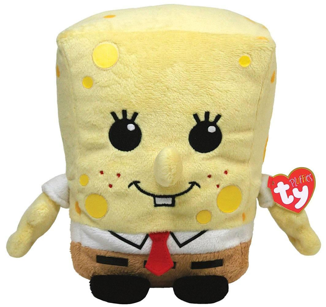 SpongeBob SquarePants Ty Pluffies Plush Figure Spongebob 25 cm