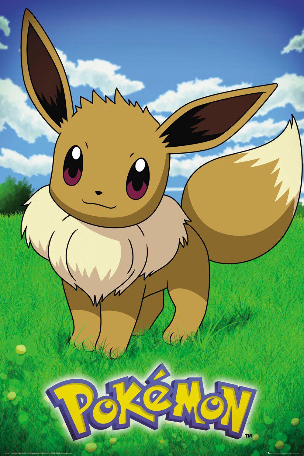 Pokémon Poster Pack Eevee 61 x 91 cm (5)
