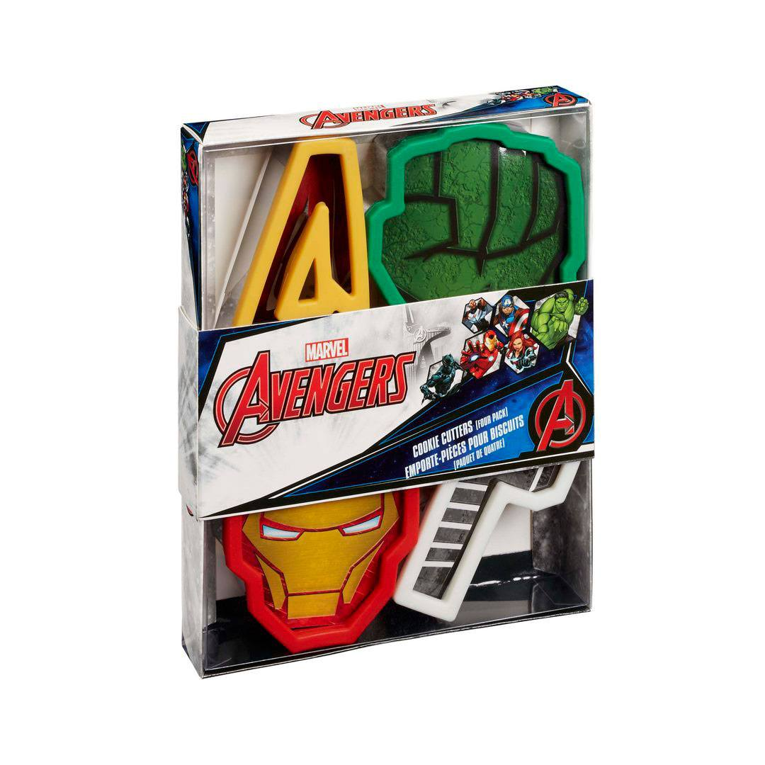 Marvel Cookie Cutter 4-Pack Avengers Icons