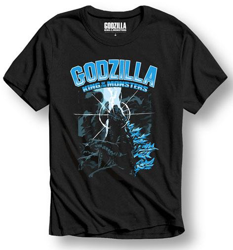 Godzilla T-Shirt King of the Monsters Size L