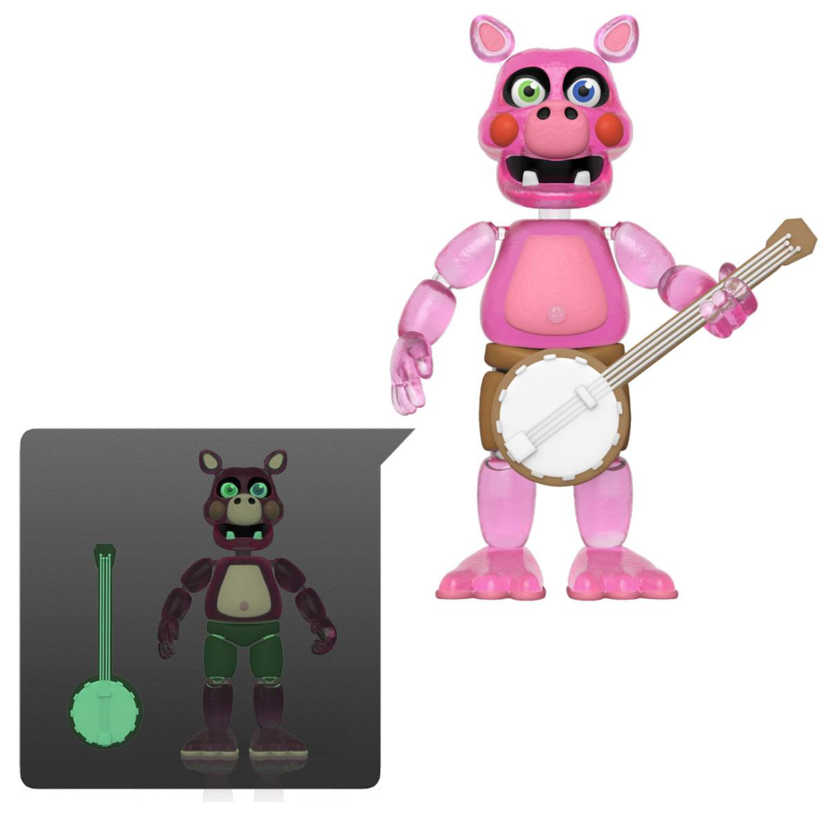 Five Nights at Freddy's Pizza Simulator Action Figure Pig Patch (Translucent) 13 cm