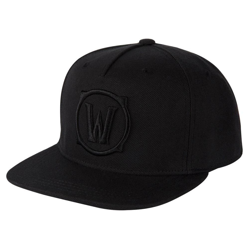 World of Warcraft Premium Snap Back Cap Blackout Logo