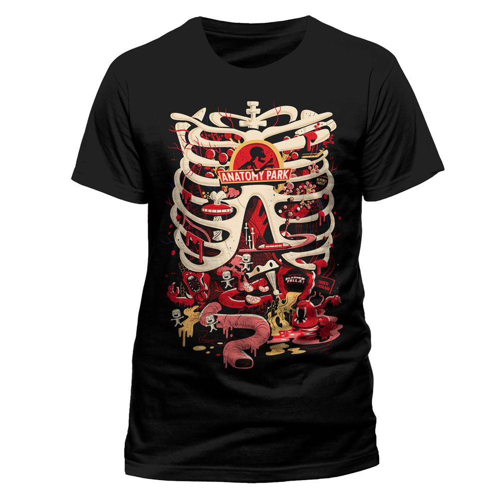 Rick and Morty T-Shirt Anatomy Park Size L