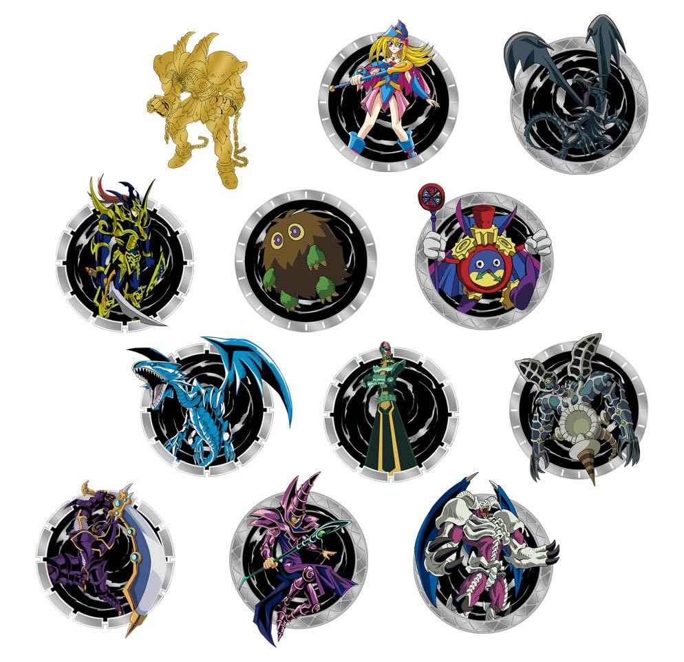 Yu-Gi-Oh! Pin Badge Display (12)
