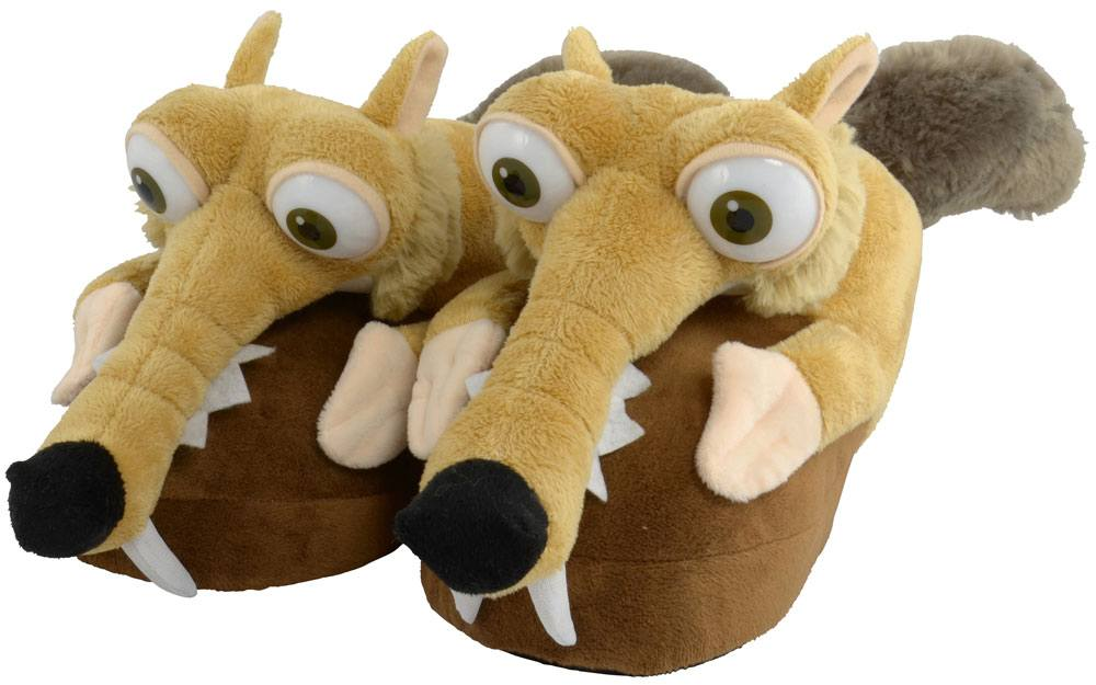 Ice Age Collision Course Slippers Scrat Size 35-37