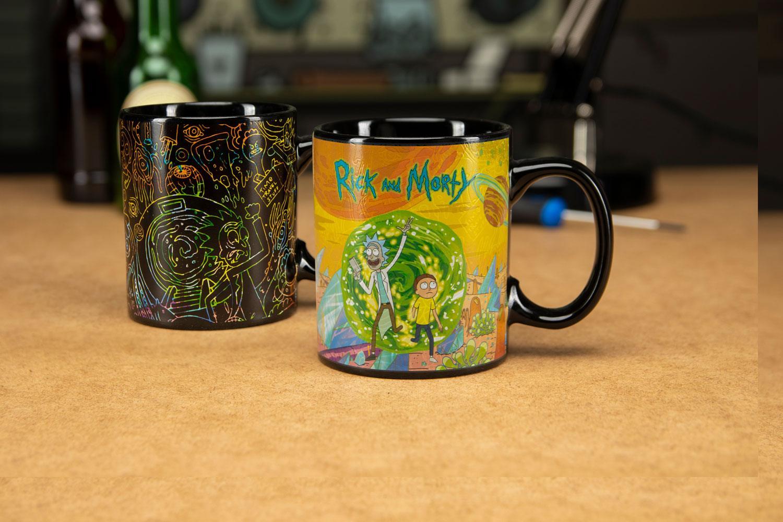 Rick & Morty Heat Change Mug Portals