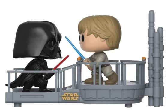 Star Wars POP! Movie Moments Vinyl Bobble-Head 2-Pack Cloud City Duel 9 cm