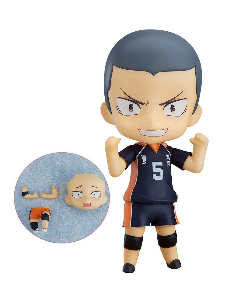 Haikyu!! Nendoroid Action Figure Ryunosuke Tanaka Special Version 10 cm