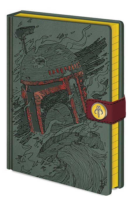 Star Wars Premium Notebook A5 Boba Fett Art
