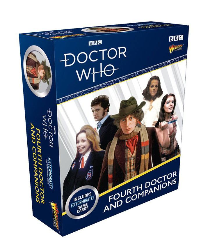 Doctor Who Exterminate! Expansion 4th Doctor and Companions *English Version*