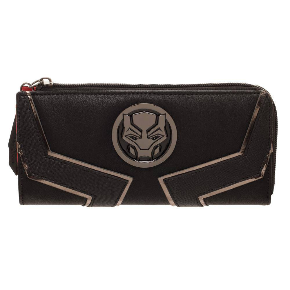 Black Panther Ladies Wallet Logo