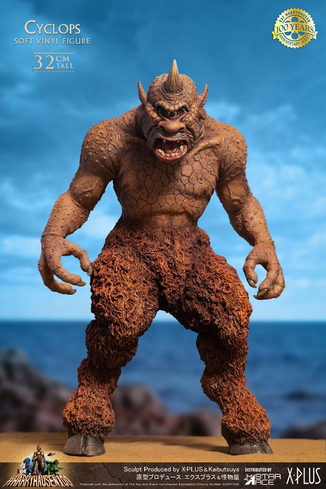The 7th Voyage of Sinbad Soft Vinyl Statue Ray Harryhausens Cyclops 32 cm