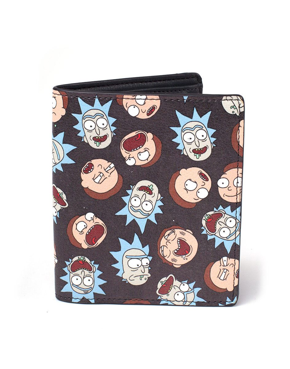 Rick & Morty Wallet All Over Print