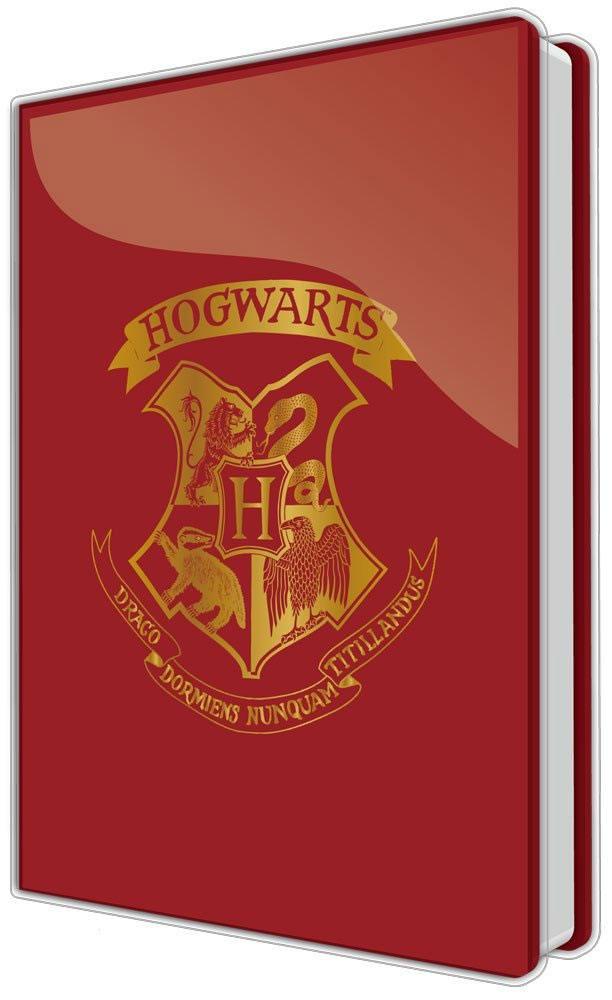 Harry Potter PVC Notebook A5 Hogwarts Case (8)
