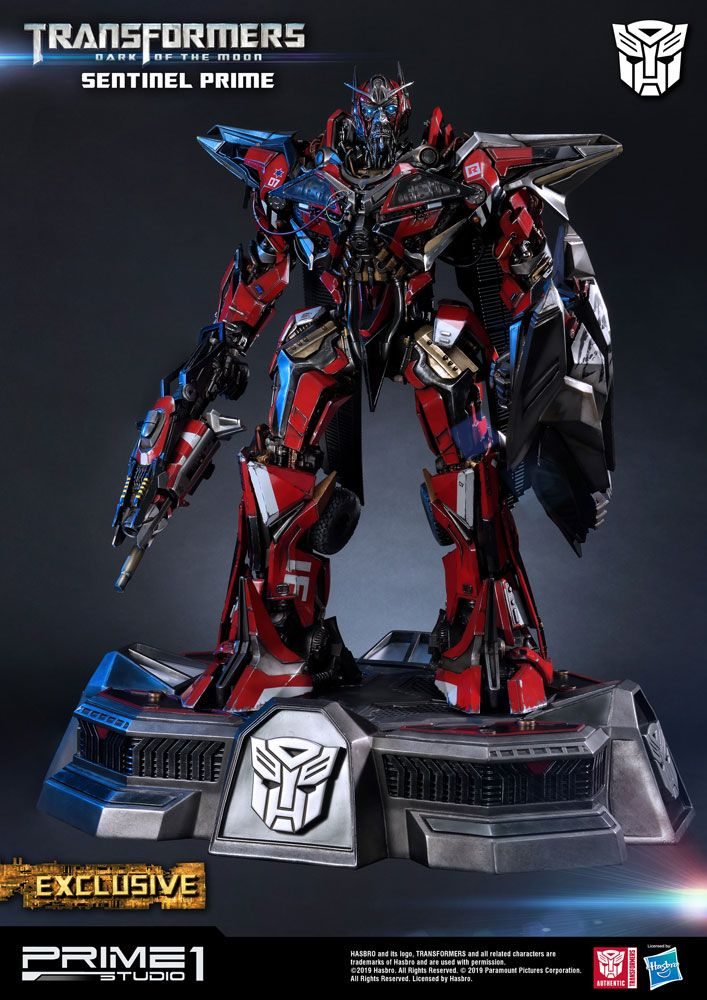 Transformers 3 Statues Sentinel Prime & Sentinel Prime Exclusive 73 cm Assortment (3)