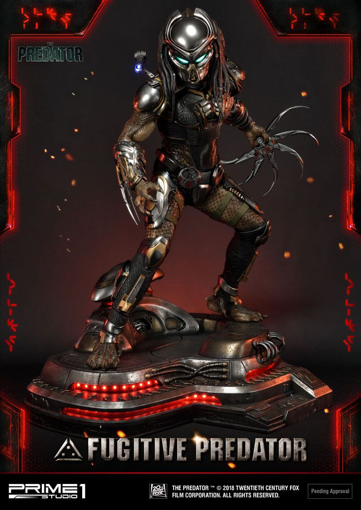 The Predator Statue 1/4 Fugitive Predator 75 cm