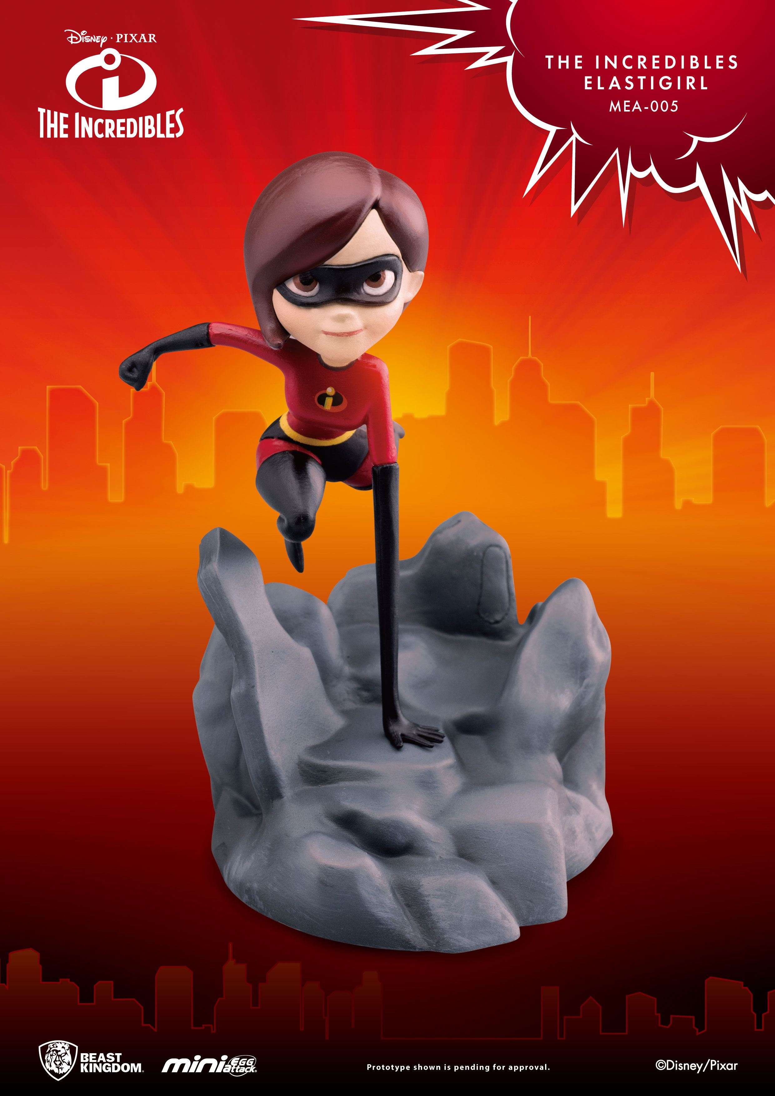 The Incredibles Mini Egg Attack Figure Elastigirl 13 cm