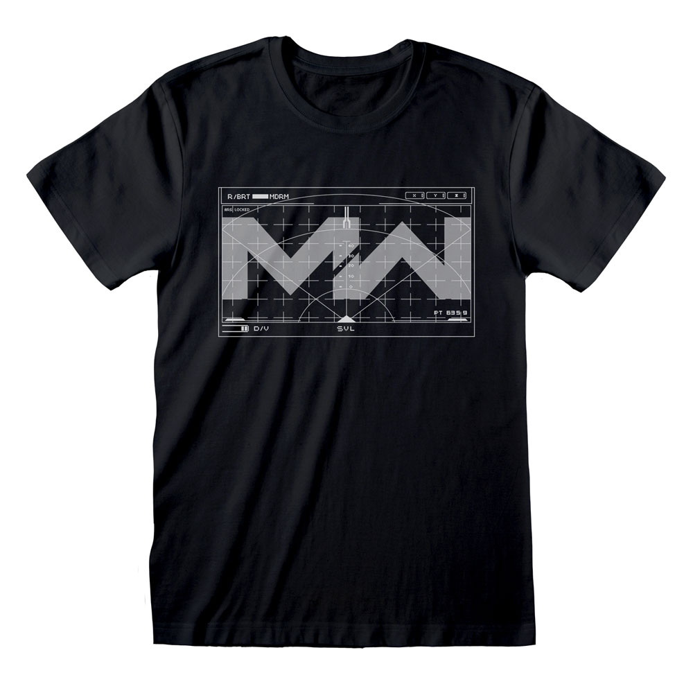 Call Of Duty: Modern Warfare T-Shirt HUD Size L