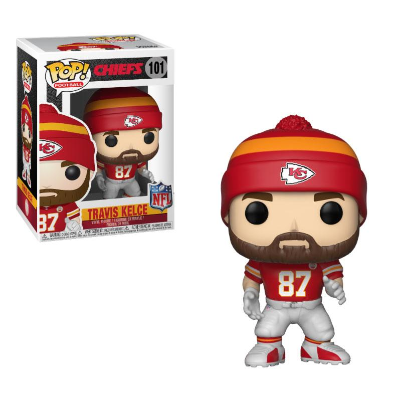 NFL POP! Football Vinyl Figure Travis Kelce (Chiefs) 9 cm