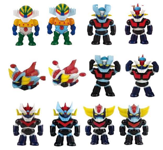 Go Nagai Robot Gashapon Figures 5 cm Assortment (24)
